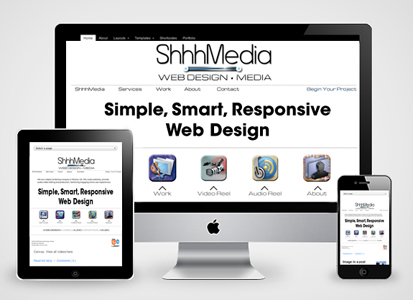 Responsive Web Design from ShhhMedia